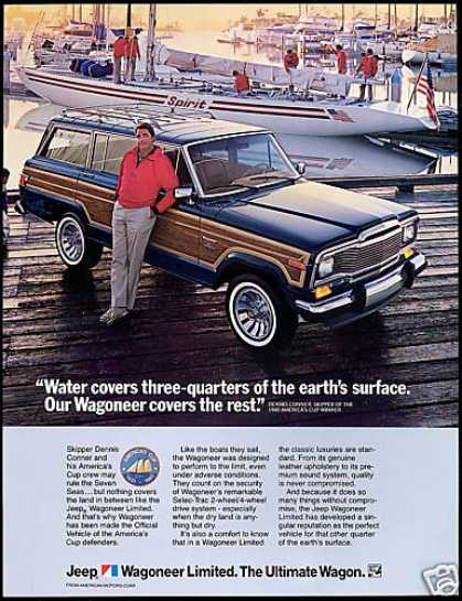Jeep Wagoneeer Limited Conner America's Cup (1983)