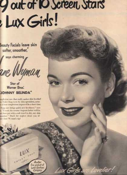 Toilet Soap – Lux (1947)