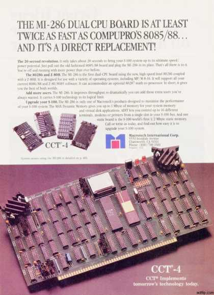 Macrotech International's Dual 286 (1985)