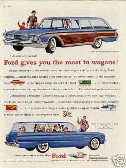 Ford Country Squire & Falcon Wagons (1960)