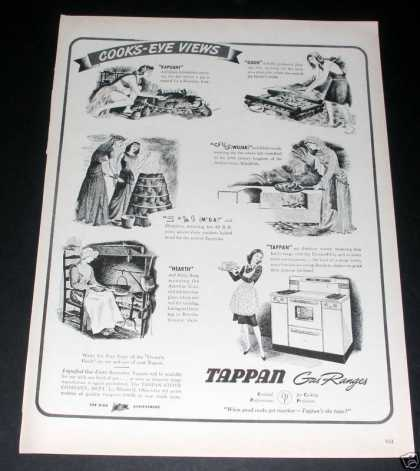 Tappan Gas Ranges, Cook's Eye Views (1944)