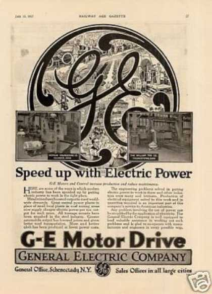 G-e Electric Motors (1917)