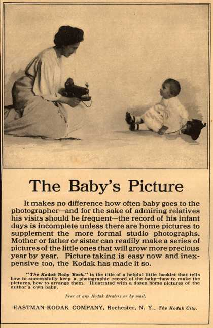 Kodak – The Baby's Picture (1908)