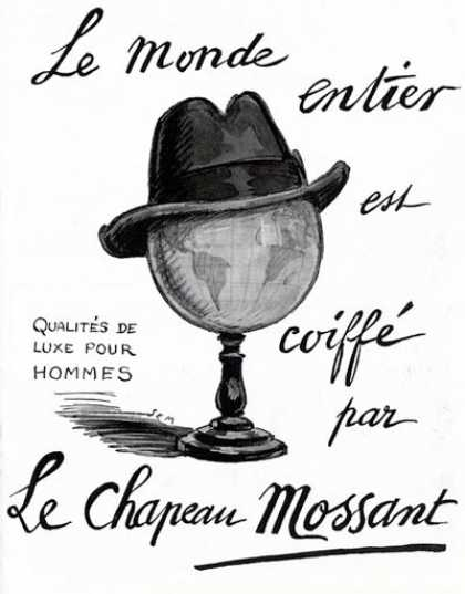Mossant Hats (1924)