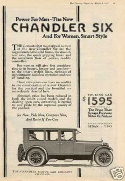 Chandler Six Car (1922)