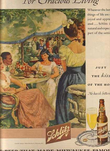 """The Beer that made Milwaukee famous"" (1946)"