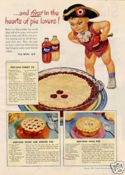 "Karo Syrup Ad ""And First In the Hearts... (1946)"