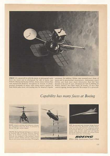 Boeing NASA Lunar Orbiter Spacecraft (1966)