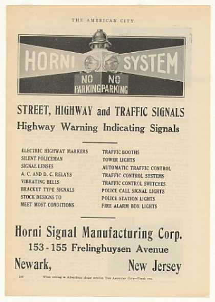 Horni Street Highway Traffic Signals (1925)