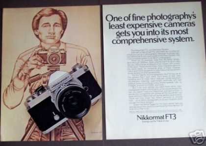 Nikkormat Ft3 35mm Camera (1977)