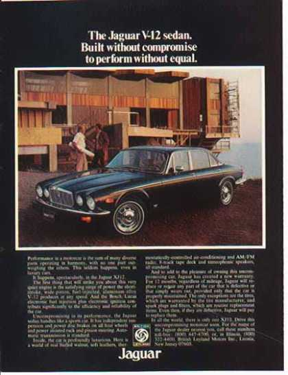 Jaguar Car – XJ – British Leyland (1977)