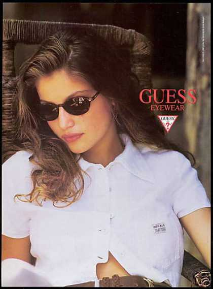 Guess Eyewear Jeans Shirt Fashion (1995)