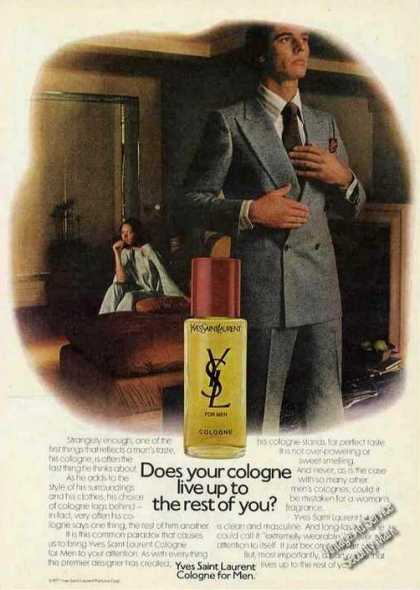 Does Your Cologne Live Up? Yves Saint Laurent (1977)