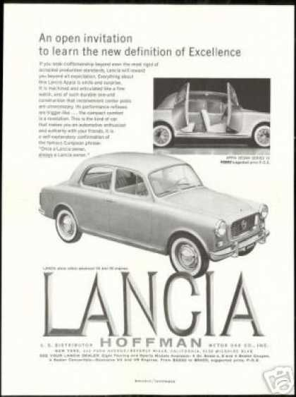 Lancia Appia Sedan Series III Vintage Photo (1959)