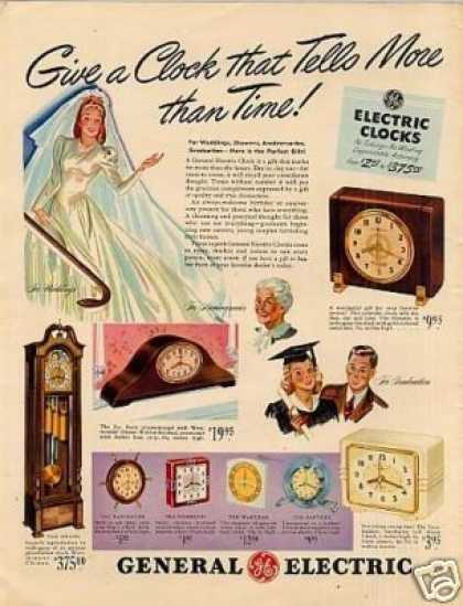 General Electric Clocks (1941)