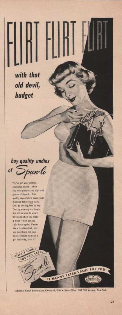 Spun Lo Undies for Women (1949)
