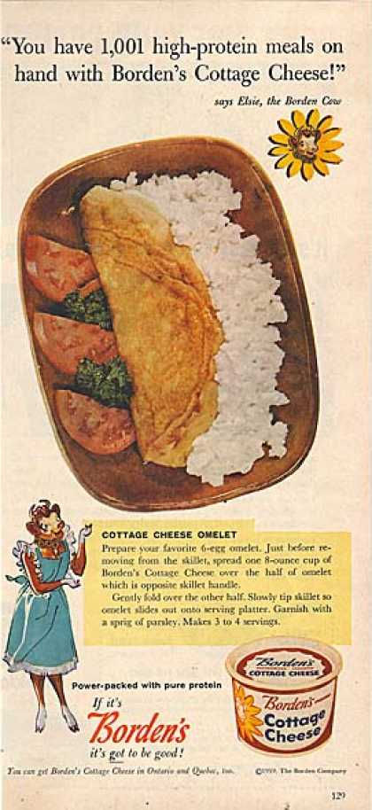 Borden's Cottage Cheese (1959)