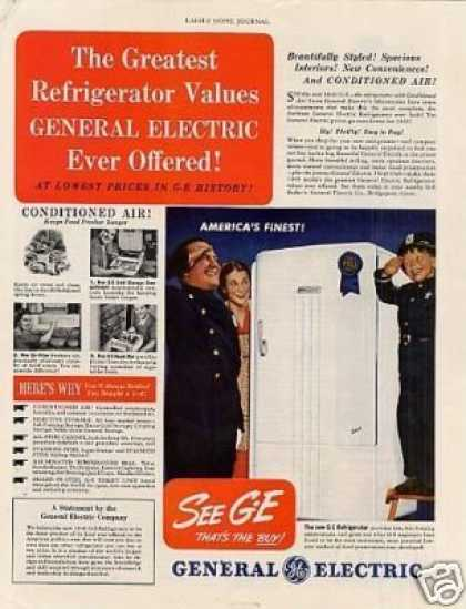 General Electric Refrigerator (1940)
