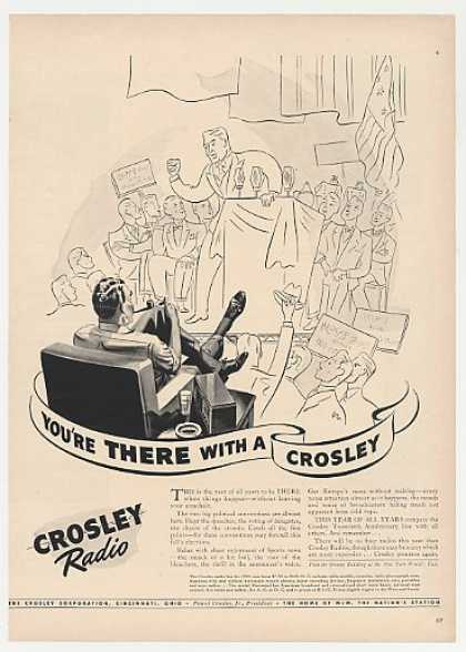 Crosley Radio You're There Political Convention (1940)
