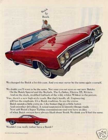 Buick Wildcat Car (1965)