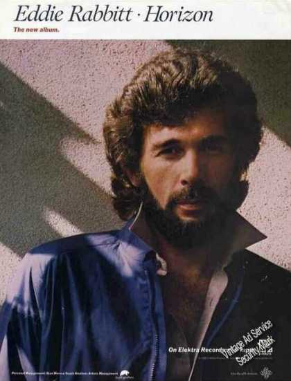 "Eddie Rabbitt Photo ""Horizon"" Album Promo (1980)"