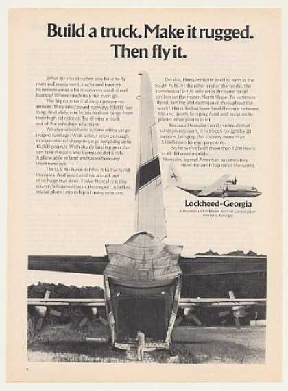 Lockheed Georgia Hercules Aircraft Photo (1973)