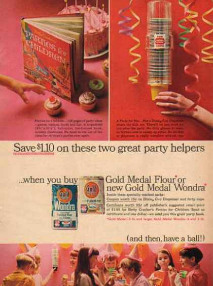 Gold Medal Flour – Betty Crocker Book Offer (1965)