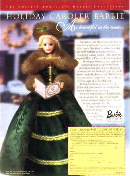 Barbie Doll – Holiday Caroler Barbie (1997)