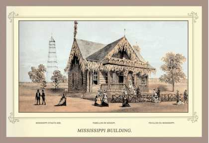 Mississippi Building, Centennial International Exhibition (1876)