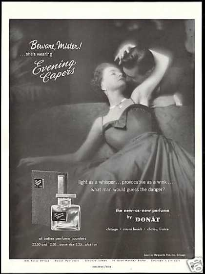 Donat Evening Capers Perfume Provocative (1954)