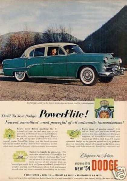 Dodge Royal V-8 Four Door Sedan (1954)