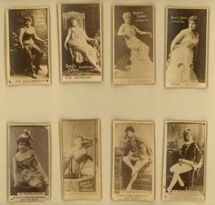 W. Duke Sons & Co.'s Duke's Cameo Cigarettes – Actors/Actresses – Image 7