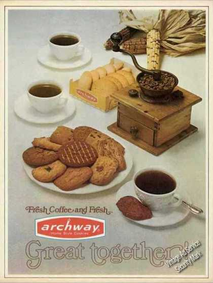 Archway Home Style Cookies & Coffee (1971)