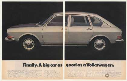 VW Volkswagen 411 4-Door Sedan Big Car (1971)