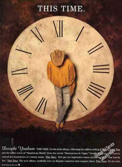 "Dwight Yoakam ""This Time"" Country Music Album (1993)"