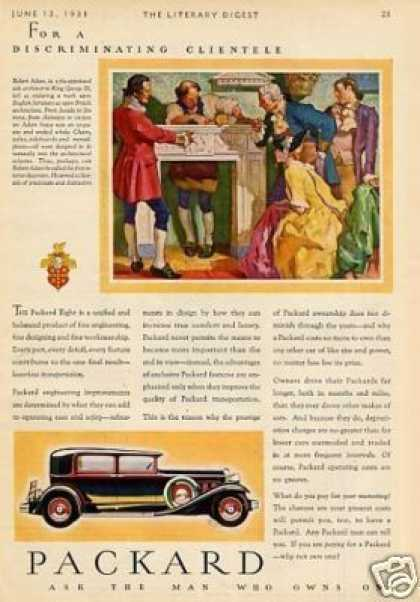 Packard Car Color (1931)