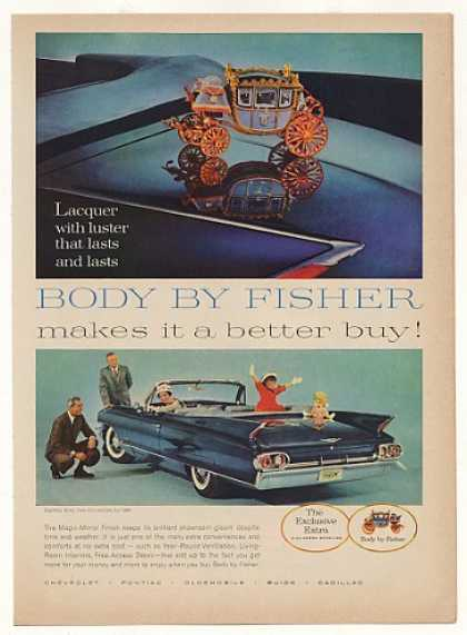 Cadillac Sixty-Two Convertible Body by Fisher (1961)