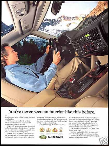 Land Range Rover 4wd New Interior Photo (1995)