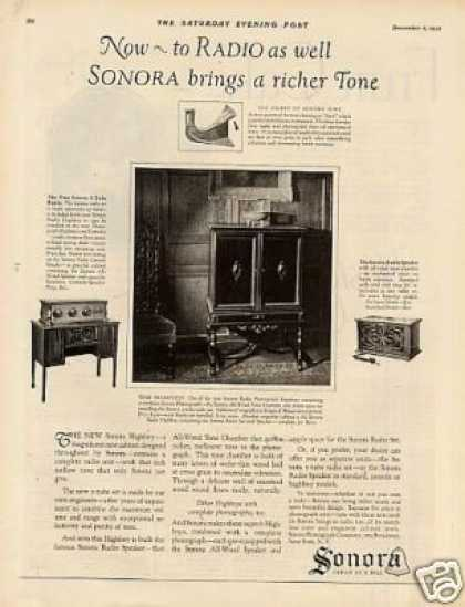 Sonora Radio-phonograg (1925)