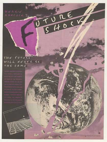 Herbie Hancock Future Shock Columbia Records (1983)