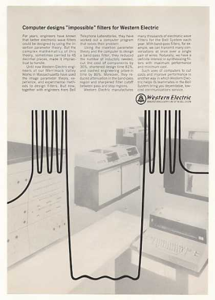 Western Electric Computer Designs Wave Filters (1967)