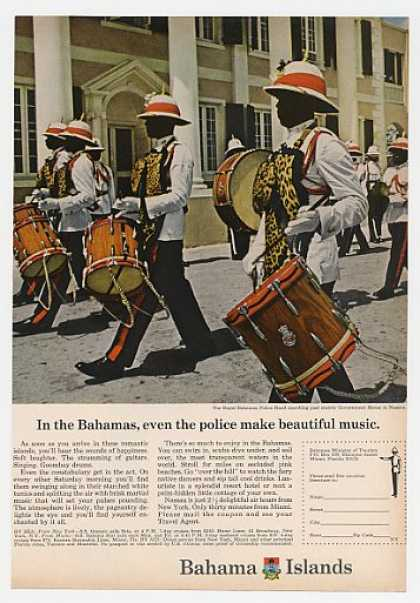 Royal Bahamas Police Band Bahama Islands Travel (1966)