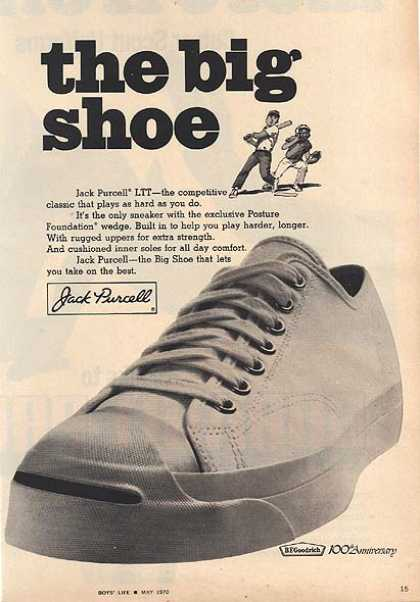 Jack Purcell's Big Shoe (1970)
