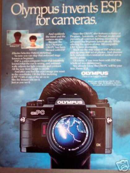 Olympus Om Pc 35mm Slr Camera W Esp (1985)