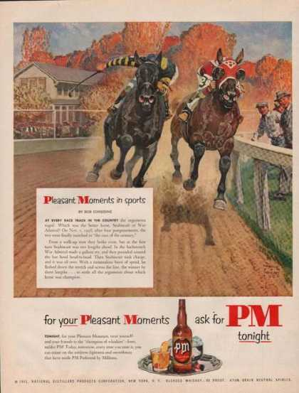 Pm Blended Whisky Race Hores (1951)