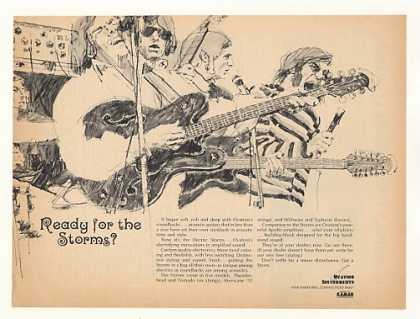 Ovation Electric Storms Guitars (1967)
