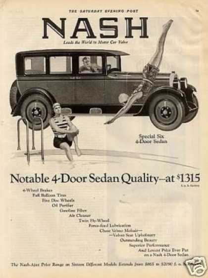 Nash Special Six 4-door Sedan (1926)