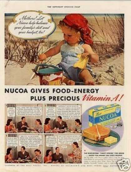 Nucoa Oleomargerine Color (1939)