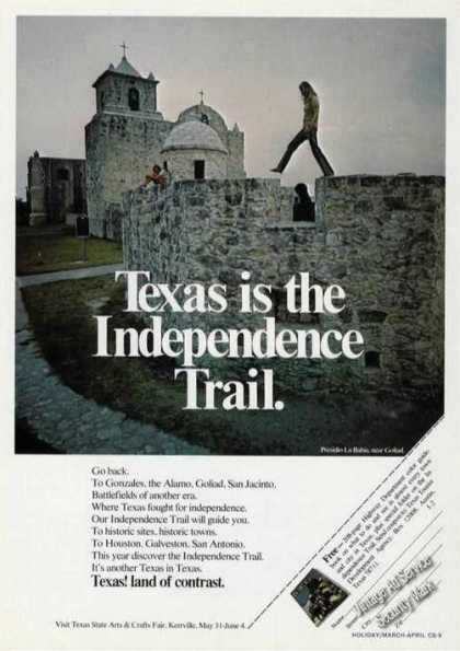 Presidio La Bahia Photo Texas Travel (1972)