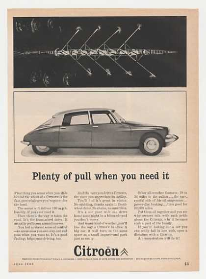 Citroen Plenty of Pull When You Need It (1963)